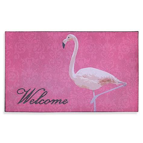 Flamingo Doormat by Flamingo Door Mat Bed Bath Beyond