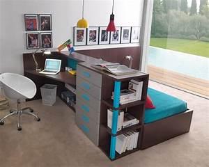 Lit Bureau Enfant : cuisine lit bureau escamotable lits escamotables cute lit bureau enfant moldfun ~ Teatrodelosmanantiales.com Idées de Décoration