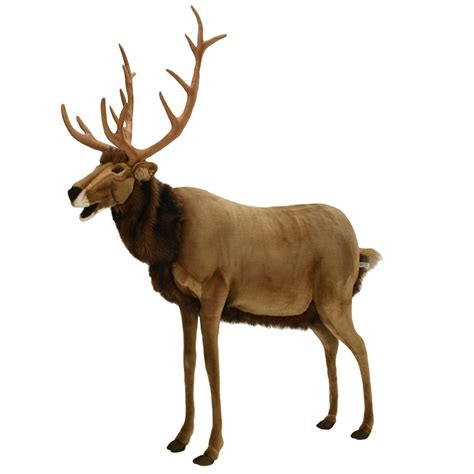 hansa lifesize animated talking reindeer the green head