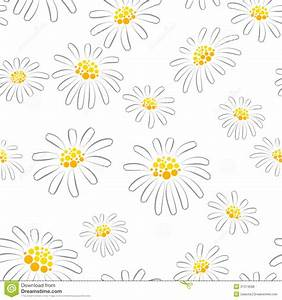 Daisy Seamless Pattern Royalty Free Stock Photos - Image ...