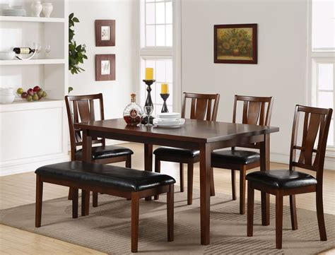 Espresso Dining Room Set by 6 Pcs Dixon Espresso Dining Room Set From New Classic