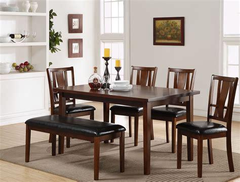 6 Pcs Dixon Dark Espresso Dining Room Set From New Classic