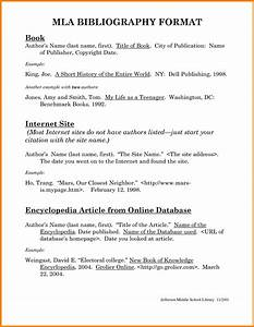 mla format bibliography example physics pinterest With free apa bibliography template