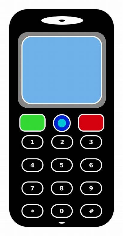 Phone Clipart Mobile Clip Cell Cellphone Telephone
