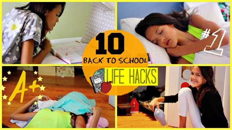 back to school hacks to 10 hacks for back to school
