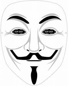 Printable Guy Fawkes mask. #vendetta Halloween for men ...