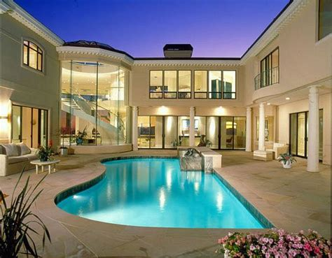 inspiring house plans with pools in the middle photo 16 splashing outdoor pool designs for wonderful recreation
