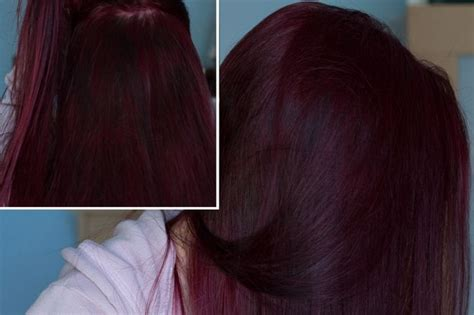 Loreal Hi Color Magenta Hair Dye Dark Hair Red Without
