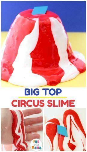 circus slime shows     slime  laundry