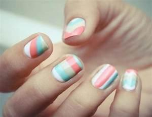 cute nail art tumblr different cute easy nail designs ...
