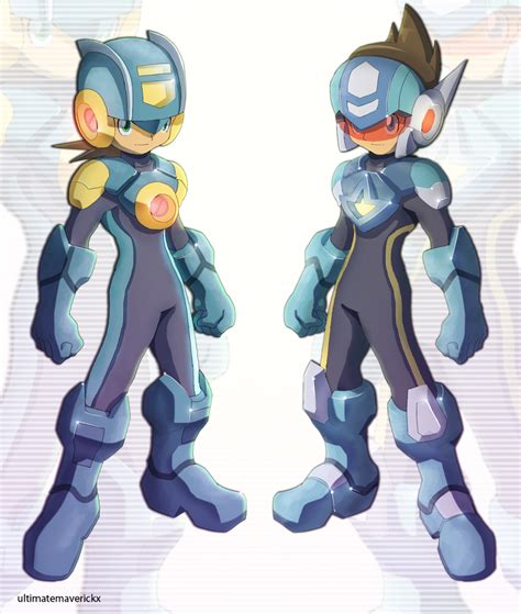 Megamanexe And Starforce Umx Version By