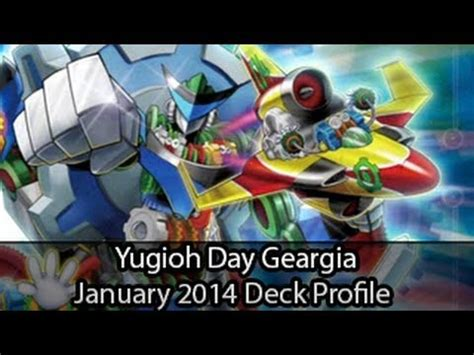 yugioh geargia deck build geargia yugioh day 1st place january deck profile 2014