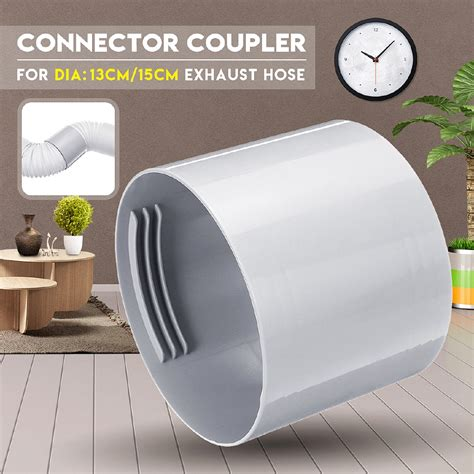 cm  exhaust hose connector coupler air conditioner  portable shopee singapore