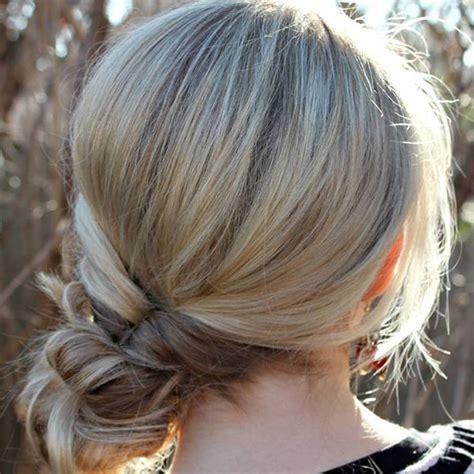 coiffures faciles simples  rapides pour cheveux mi longs
