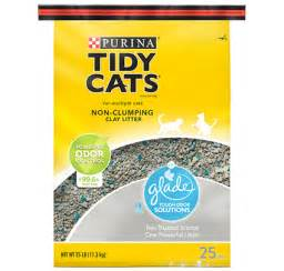 non clumping cat litter glade 174 tough odor solutions non clumping cat litter tidy