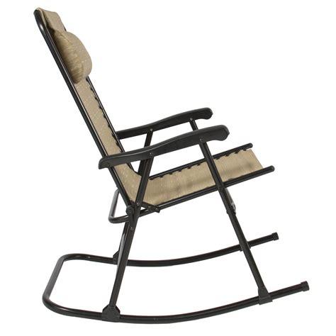 Folding Rocker Lawn Chair by Rocking Folding Lawn Chair Folding Rocking Chair Great