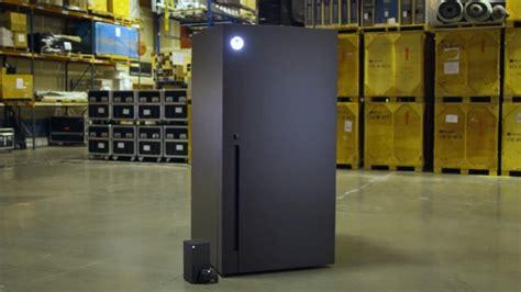 xbox series  fridge  real  microsoft  giving