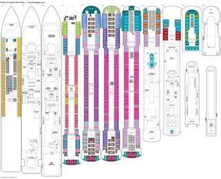 carnival pride deck plans pics for gt carnival pride deck plan