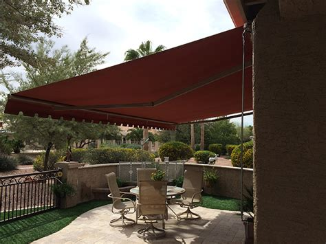 retractable patio awning retractable patio deck awnings nationwide sunair maryland