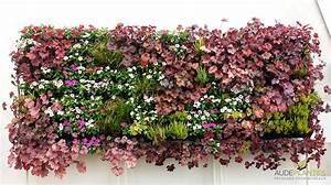 Mur Végétal En Palette : mur fleuri sofag ~ Melissatoandfro.com Idées de Décoration