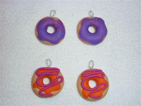 bijou en pate fimo bijoux en pate fimo donuts