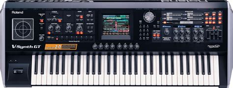 roland  synth gt elastic audio synthesizer