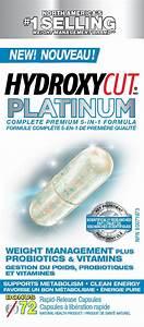 Hydroxycut Platinum Weight Management Plus Probiotics  U0026 Vitamins  72ct
