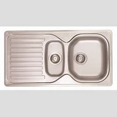 Franke Stainless Steel Double Bowl Sink  Kitchen Sinks