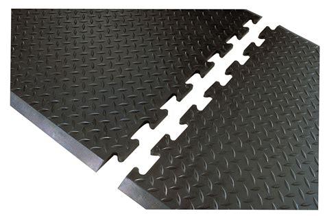 floor mats interlocking footsaver interlocking solid top anti fatigue floor mat 3 8 quot floormatshop com commercial
