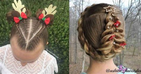 Coiffure noel petite fille tuto coiffure gala | Coiffure institut