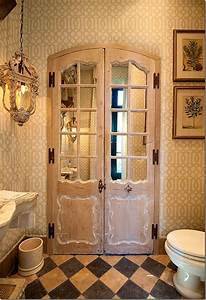 for a bathroom there is no better pattern than a trellis With there is no bathroom