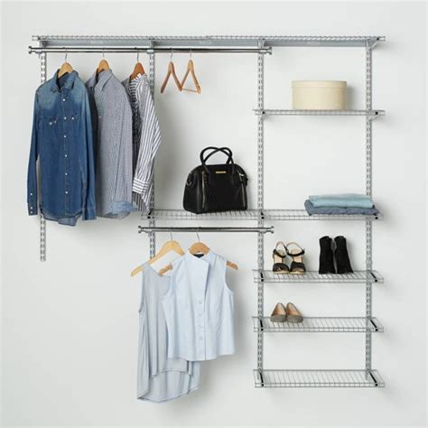 Rubbermaid Closet by Rubbermaid Configurations Closet Kits 3 6 Deluxe