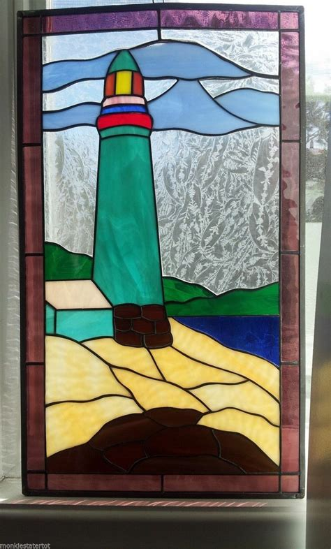stained glass lighthouse l 1000 images about stained glass lighthouses on pinterest
