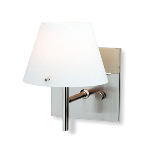 firstlight zara wall light dimmer switch brushed