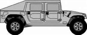 1992 Hummer H1 Slant Back Suv Blueprints Free