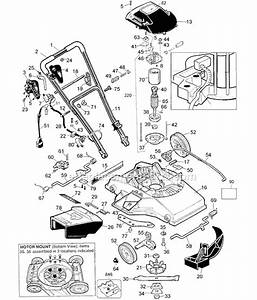 Pro 550 Push Mower Parts Diagram