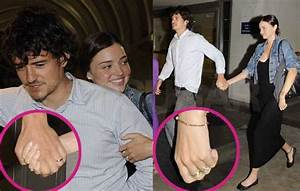 Pictures of Orlando Bloom and Miranda Kerr Return From ...