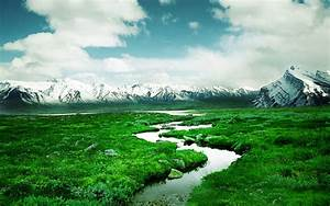 norway, mountain, river, wallpapers