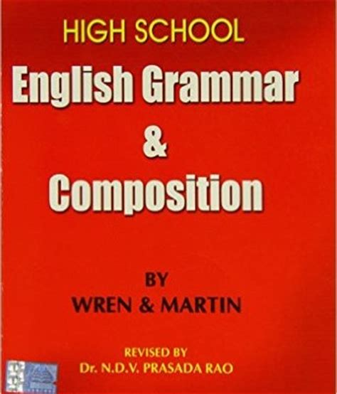 High School English Grammar And Composition  Ribuk Junction