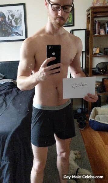 daniel benson leaked nude and jerk off video gay male