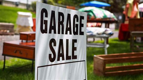 Garage Sales - how to a successful garage sale tips for pricing items