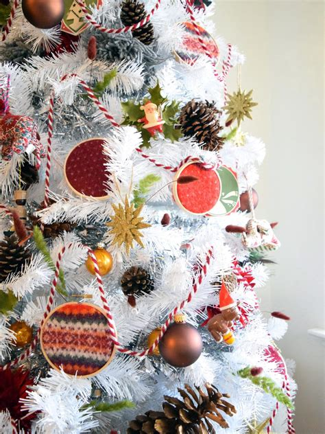 embroidery hoop sweater ornaments hgtv