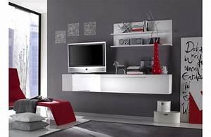 Meubles bas chambre bureau double caisson et 2 meubles de for Deco cuisine pour meuble tv wenge