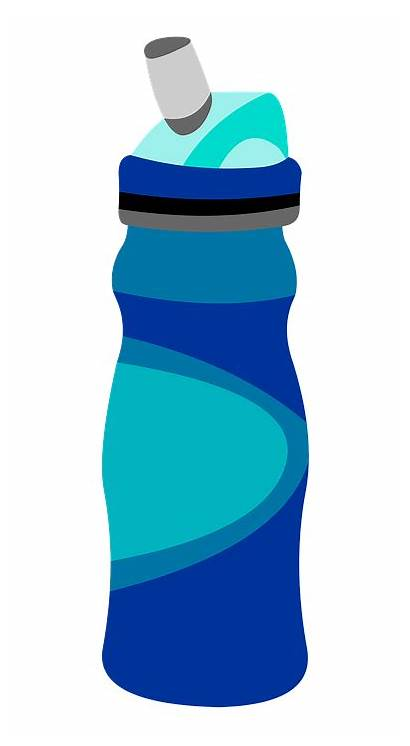 Bottle Water Clipart Clip Graphic Reusable Illustration
