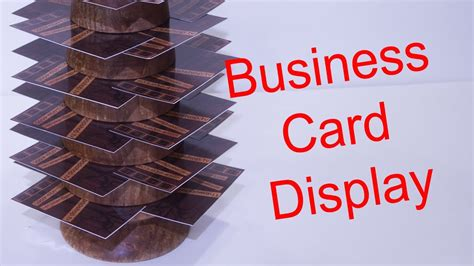 How To Make A Diy Business Card Display / Woodturning Business Calendar For Windows 7 Full Hours Multiple Visiting Cards Design Vector Free Download Small Deduction Year Working Days Holder Mont Blanc Card Microsoft Office Google Use