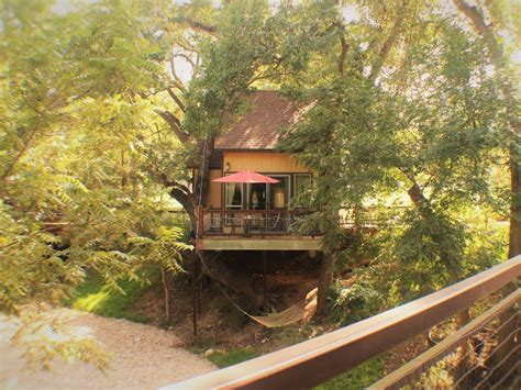 stay   luxury tree house   guadalupe river