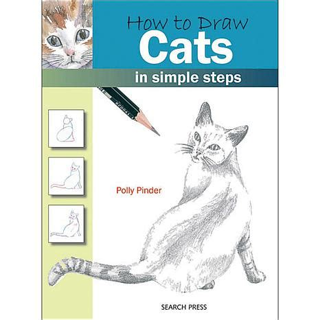 search press books   draw cats  polly pinder