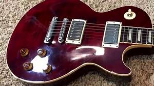 Trogly U0026 39 S Guitars  2003 Gibson Les Paul Classic Wine Red