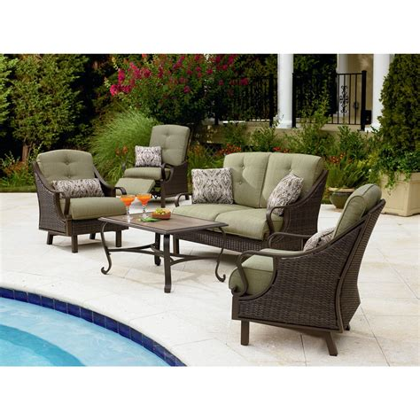 review la z boy outdoor peyton 4 pc seating set best