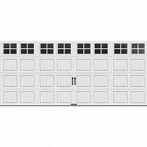 clopay gallery collection 16 ft x 7 ft 184 r value With 18 x 7 insulated garage door